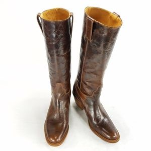 Charlie 1 Horse Lucchese Leather Midcalf Boots